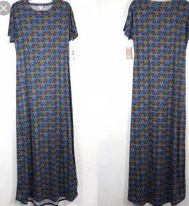 Nwt. Lularoe American dreams Maria maxi dress